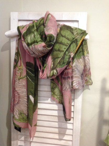 100 stars - scarf - Passionflower Pink
