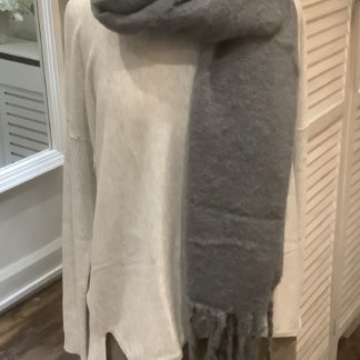 Charcoal scarf