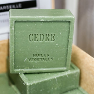 Natural vegetable soap - Cedre