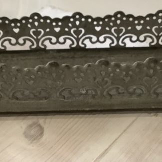 Candle tray -small filigree