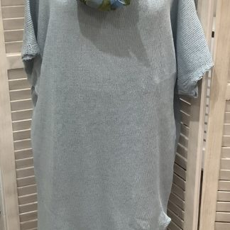 Split side cotton dress/ tunic